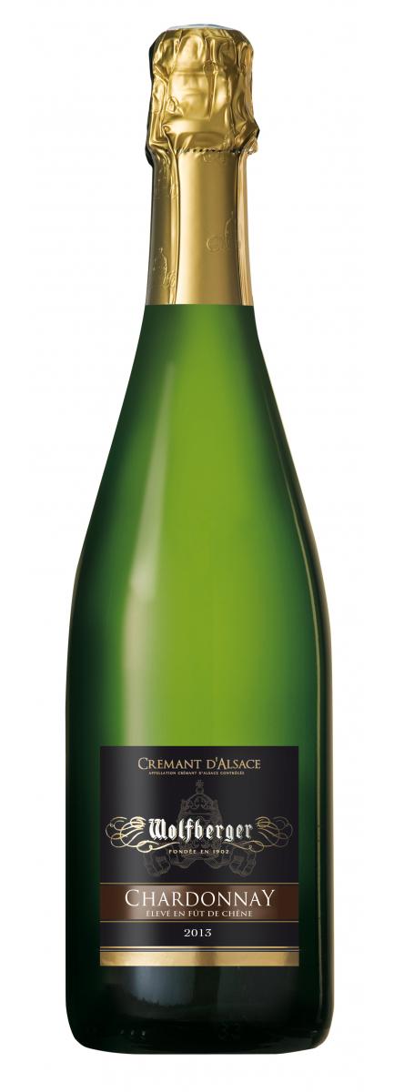 Crémant d'Alsace Chardonnay 2013 Elevé en Fût de chêne