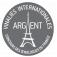 Médaille d'Argent Vinalies Internationales 2018