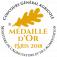 Médaille d'Or Concours Général Paris 2018
