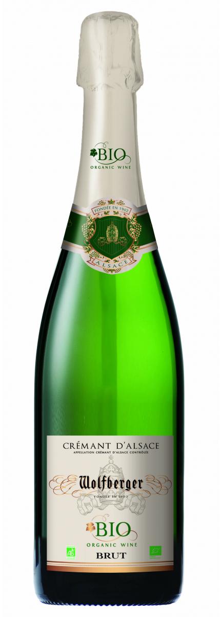 Crémant d'Alsace Brut Bio*