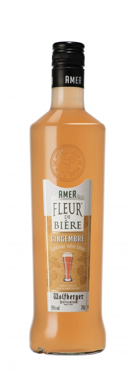 Amer Fleur de Bière® Gingembre + 5 sous-bocks OFFERTS