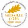 Médaille Or Concours Général de Paris 2020