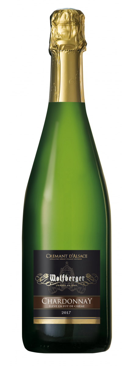 Crémant d'Alsace Chardonnay 2017 Elevé en Fût de chêne