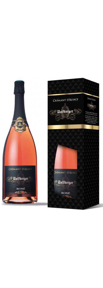 Crémant d'Alsace Rosé Magnum