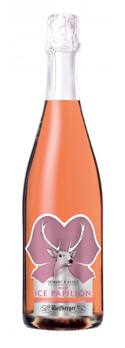 Crémant d'Alsace Ice Papillon Rosé