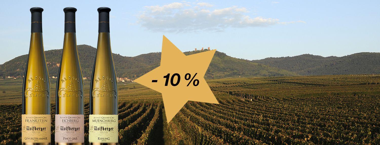 -10% sur nos Alsace Grands Crus