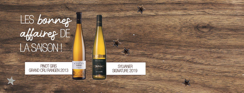 Offres bouteilles offertes RANGEN / SYLVANER